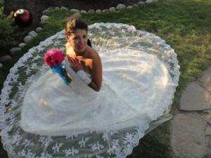 vestido de novia importado