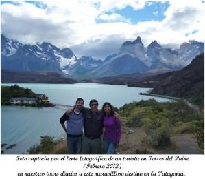 tour a torres del paine viajes en grupo o grupo familiar 1.2.3 noviembre