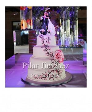 tortas para matrimonios región del maule