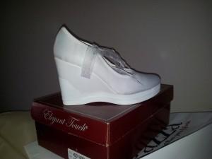 zapatillas de novia regazza nuevas modelo katy