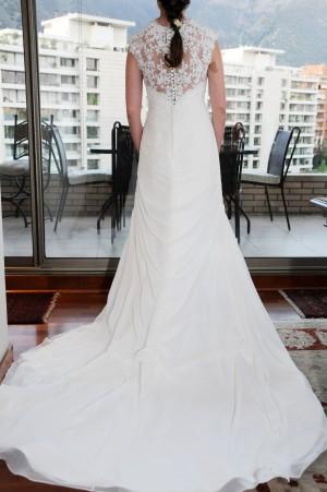 precioso vestido de novia usado, colección 2013
