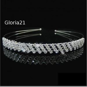 cintillos con perlas flores o cristales importados metalicos ajustable