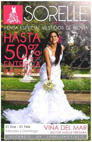 hasta 50% de descuento en vestidos de novia ofertas viÑa del mar
