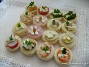 banqueteria coctel celebraciones cumpleaños fiestas canapes brochetas