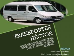 traslado van minibus matrimonio fiesta transporte