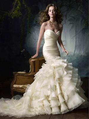 vendo hermoso vestido de novia de organza, a solo $195.000
