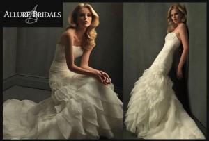 vendo hermoso vestido de novia modelo allure bridals a solo $195.000