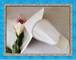 pantuflas fiesta matrimonio ecologicas impresas livianas frescas