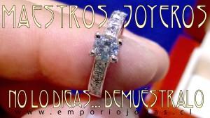 anillos y argollas de compromiso chile, santiago