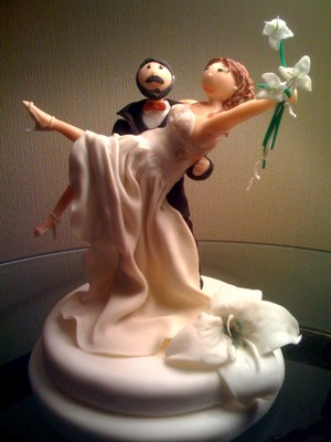 adornos torta matrimonio