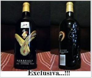vendo exclusivo vino frances 1997. exclusivo...!!!!