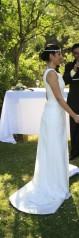 hermoso vestido de novia importado desde la india.