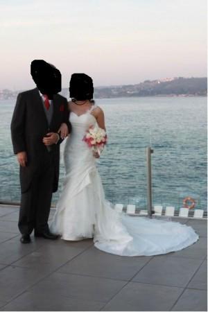 vestido de novia millaray palma la sposa talla 38-40