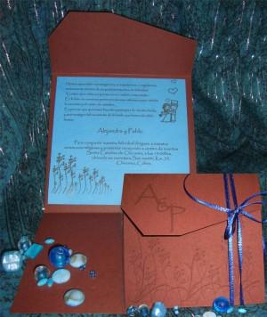 partes de matrimonio y detalles en papel!