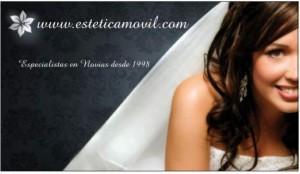 esteticamovil especialistas en novias madrinas fiestas peinados maquillajes