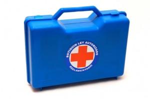 azul botiquines  para empresas y vehiculos equipados para mineria