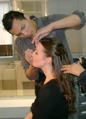 maquillaje de lujo, profecional y peinado a domicilio
