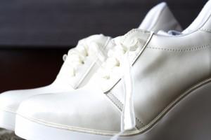 vendo zapatillas de novia