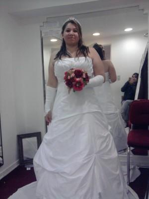 arriendo mi vestido de novia modelo exclusivo de la casa blanca