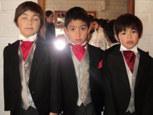 trajes pajes bodas niños
