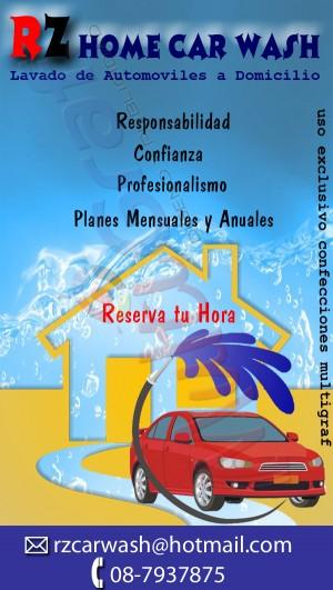 lavado de autos a domicilio servicio integral