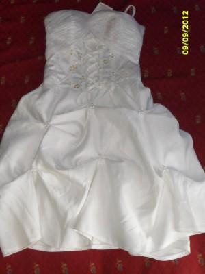 vestido nuevo sin uso para paje niña talla 8