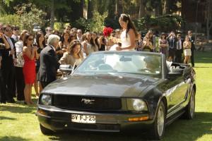 arriendo auto para novios antofagasta ford mustang