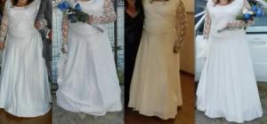 vestido de novia para gordita talla 48-50