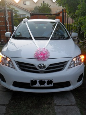 arriendo auto para matrimonio