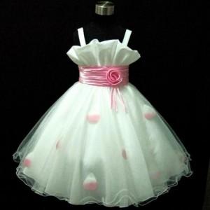 hermosos vestidos de pajes (niña) con cintones y rosetón en la cintura
