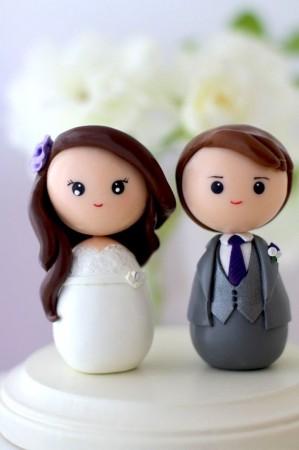 torres de cupcakes y torta para matrimonios en valparaíso