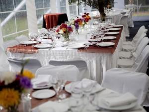 arriendo de vajilla -sillas- mesas manteleria- todo para su evento