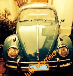 arriendo autos clásicos para eventos: volkswagen escarabajo