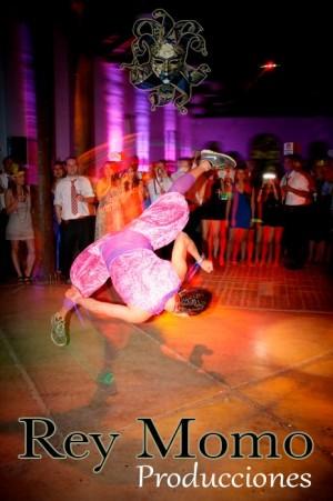 eventos matrimonios batucadas murgas zancos bailes animacion