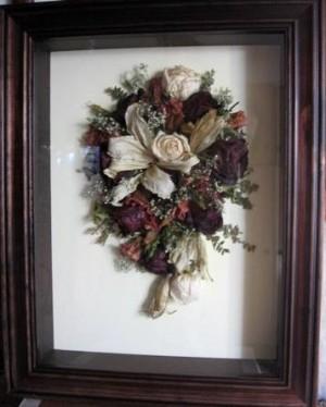 enmarcado de ramos de novia ramo eterno