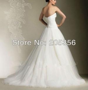 vestido de novia con perlas al costado, exclusivo talla 38-40