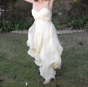 vendo lindo vestido de novia, muy cÓmodo!
