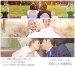 fotografo para matrimonio v region profesional