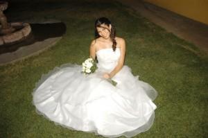 vendo vestido novia $130.000 largo, casa blanca
