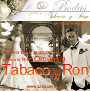 orquesta tabaco y ron en tu matrimonio, fiesta o evento