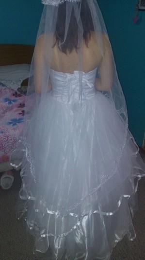 vendo vestido de novia 1 sola postura