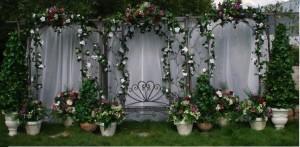 arco para flores