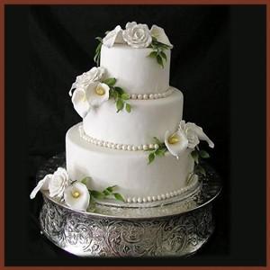 tortas finamente decoradas para novios