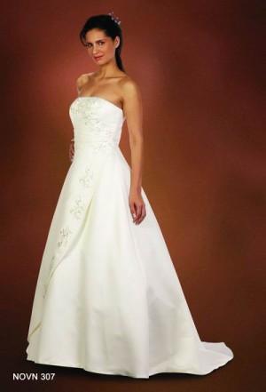 Vestido de novia modelo aurora