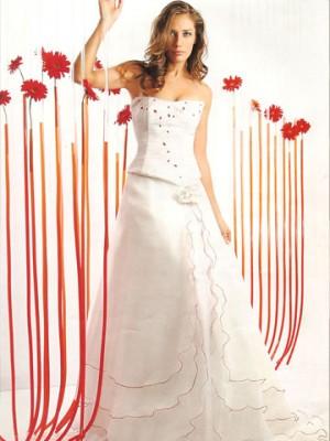 vestidos de novia, liquidación agosto 09