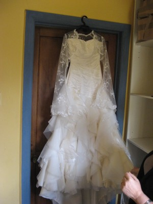 Se vende vestido de novia usado