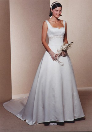 vestido de novia barato modelo paloma, de la casa blanca - 27/12/2009