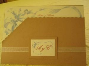 partes de matrimonio en punta arenas,tarjetas de matrimonio, souvenir